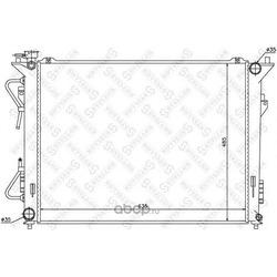 Радиатор системы охлаждения (STELLOX) 1025315SX