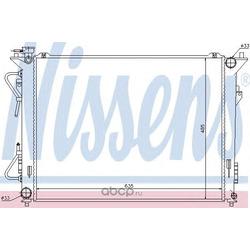 Радиатор, охлаждение двигателя (Nissens) 67507