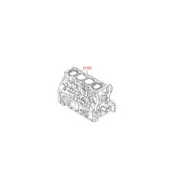 Блок цилиндров (Hyundai-KIA) 221TM2GA01D