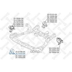 Подушка двс передняя (STELLOX) 2519350SX