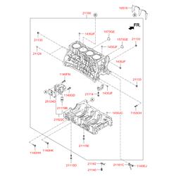 Клапан топливный (Hyundai-KIA) 211402GGA0