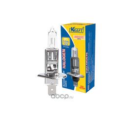"Автолампа h1 12v 55w (p14 5s)"" (Kraft) KT700000"