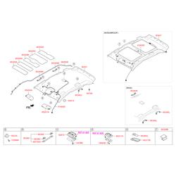 Лампочка подсветки салона (12в, 10вт) (Hyundai-KIA) 1864510009N