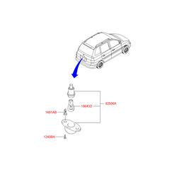 Лампочка (Hyundai-KIA) 1864305009E