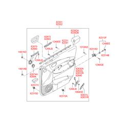 Лампочка (Hyundai-KIA) 1864305009