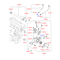 Болт (Hyundai-KIA) 1140006106K