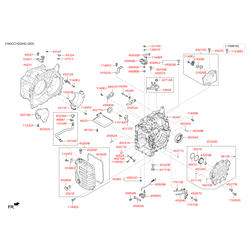 Болт с шестигранной головкой (Hyundai-KIA) 1140306126K