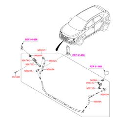 Болт с шестигранной головкой (Hyundai-KIA) 1125408256B