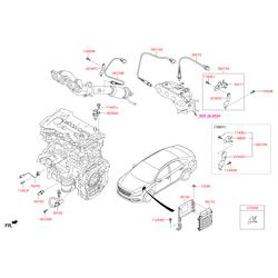 Лямбда-зонд (Hyundai-KIA) 392102E300