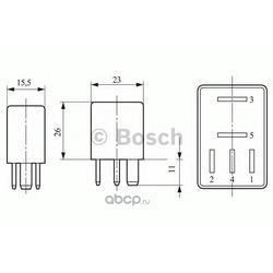 Реле электрическое (BOSCH) 0332201107