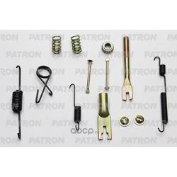 Ремкомплект крепления тормозных колодок задних / правых (PATRON) PSRK004KOR