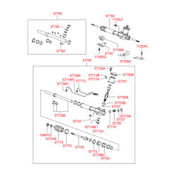 Заглушка корпуса рулевого механизма (Hyundai-KIA) 5771333100