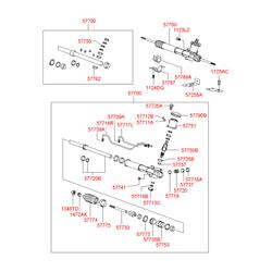Рулевой механизм (Hyundai-KIA) 5770039010