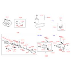 Насос гидроусилителя (Hyundai-KIA) 5710038500