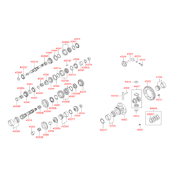 Подшипник роликовый (Hyundai-KIA) 5352211050