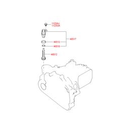 Привод спидометра (Hyundai-KIA) 4651239000