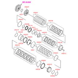 Синхронизатор акпп (Hyundai-KIA) 4568926700