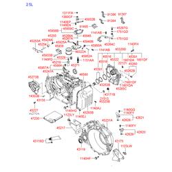 Клапанная крышка (Hyundai-KIA) 4528339500