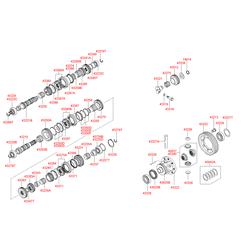 Подшипник первичного вала (Hyundai-KIA) 4322239041