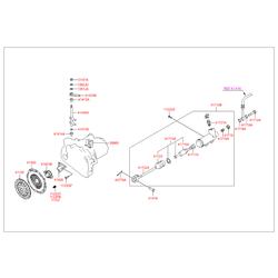 Корзина сцепления (Hyundai-KIA) 4130039040
