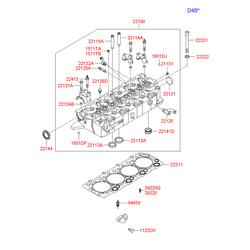 Резистор переменного сопротивления (Hyundai-KIA) 2732538000