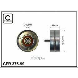 Ролик приводного ремня (CAFFARO) 37599