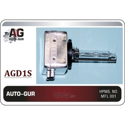 Лампа d1s 4300k 12v 35w (xenon) свет стандарт (Auto-GUR) AGD1S
