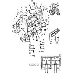 Втулка направляющая отверстия блока цилиндров (Hyundai-KIA) 1433108090