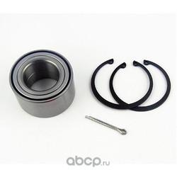 Комплект подшипника ступицы колеса (FISPA) 460085