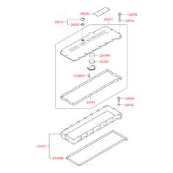 Болт крепления ступицы м12 (Hyundai-KIA) 1129306251