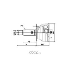 Комплект шруса (DYNAMATRIX-KOREA) DCV839104