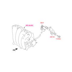 Клапан контроля давления топливной системы (Hyundai-KIA) 289102E000