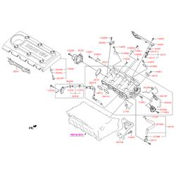 Заслонка дроссельная (Hyundai-KIA) 283212G000