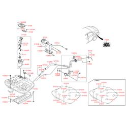 Шланг топливной системы (Hyundai-KIA) 310373R000