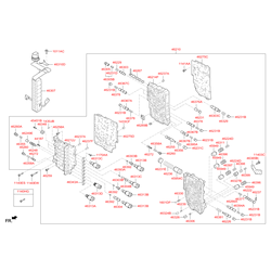 Электромагнитный клапан акпп (Hyundai-KIA) 463133B160