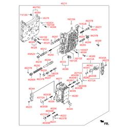 Электромагнитный клапан гидравлического блока клапанов акпп (Hyundai-KIA) 463133A060