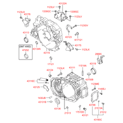 Пробка картера сцепления (Hyundai-KIA) 0081017121