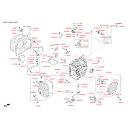 Полукольцо резиновое (Hyundai-KIA) 4532439000