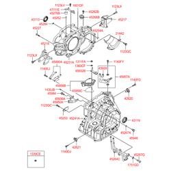 Пробка маслянного картера кпп (Hyundai-KIA) 4532423000