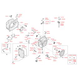 Сальник привода правого внутренний (Hyundai-KIA) 4524526200