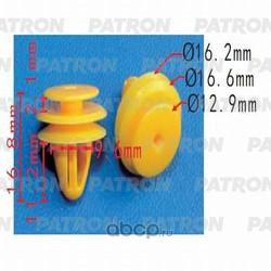Клипса пластмассовая (PATRON) P370538