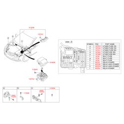 Реле (Hyundai-KIA) 952302P050