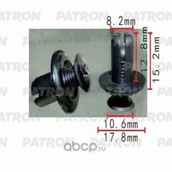 Клипса пластмассовая (PATRON) P370502