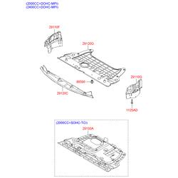 Защита двигателя (Hyundai-KIA) 291203K105