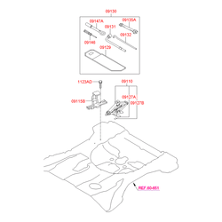 Гаечные ключи (ручные, неразводные) (Hyundai-KIA) 0913511210