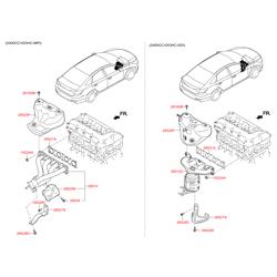 Коллектор выпускной (Hyundai-KIA) 285112G710