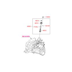 Палец привода спидометра (Hyundai-KIA) 1431003145