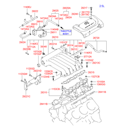 Стойка (Hyundai-KIA) 2921637113