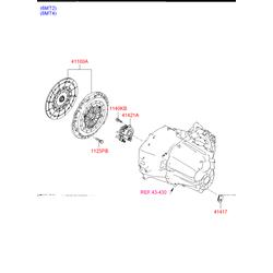 Корзина сцепления (Hyundai-KIA) 4120024720