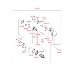 Муфта сцепления (Hyundai-KIA) 361402G000